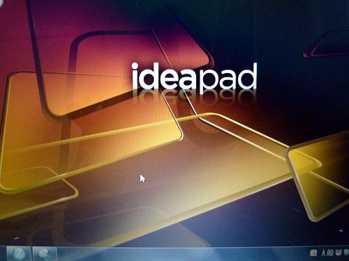 IdeaPad Y560 デスクトップ画面