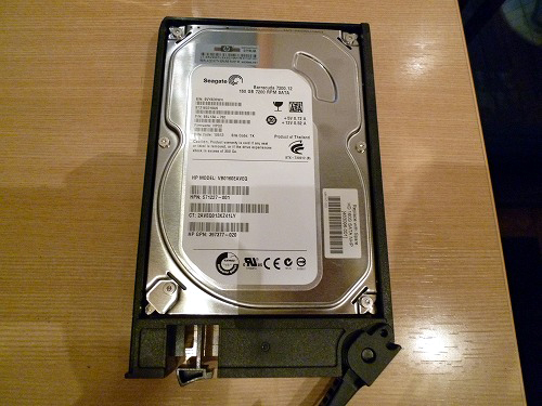 HP ProLiant MicroServer HDD
