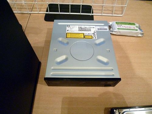 HP ProLiant MicroServer 光学ドライブ