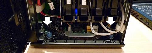 HP ProLiant MicroServer内部