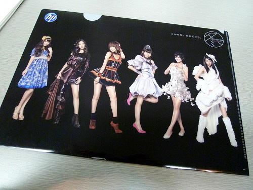 AKB48のクリアファイル