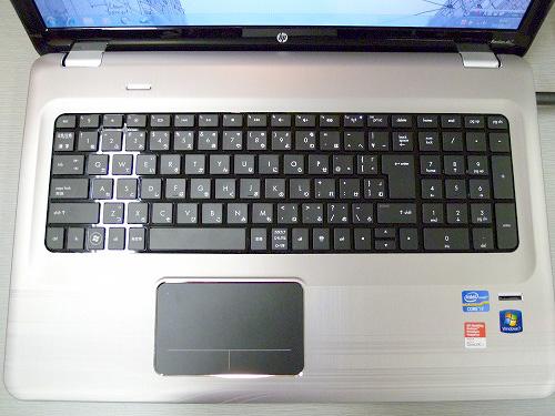 dv7-5000のキーボード