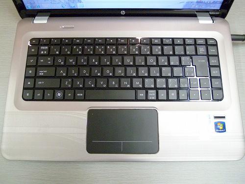 dv6-4000 Premiumのキーボード