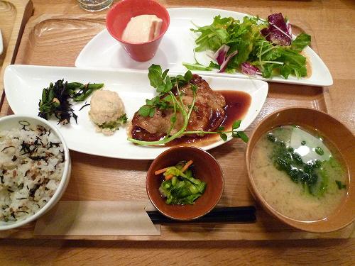 相模豚の生姜焼き定食