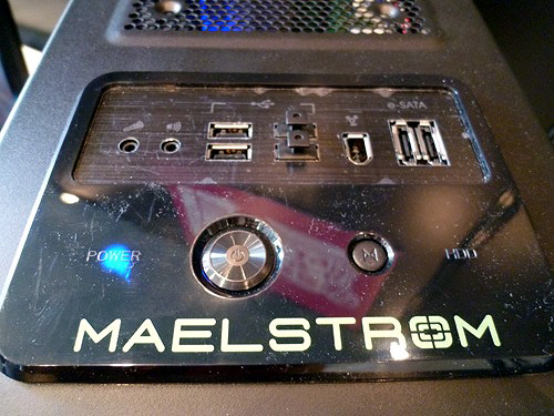 Maelstrom上部のインターフェース