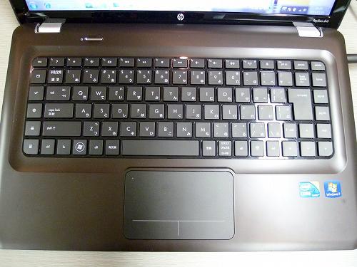 dv6iのキーボード