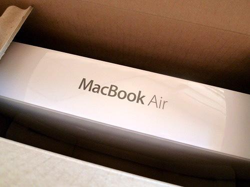 MacBook Air の箱