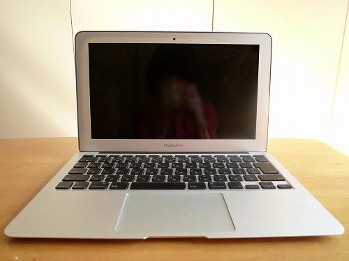MacBook Air 正面
