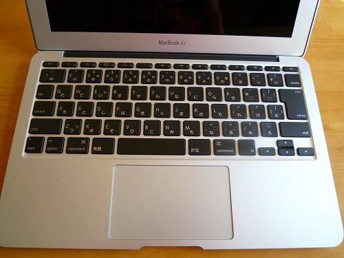 MacBook Air のキーボード