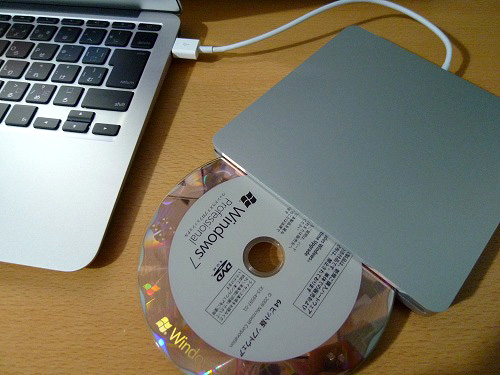 MacBook AirとWindows 7
