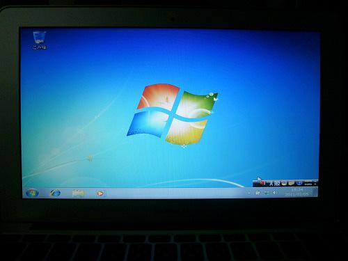 Windows デスクトップ画面