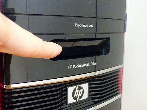 HP ポケットメディアドライブ