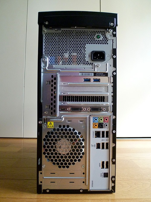 HPE 590jpの背面