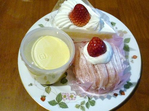コージーコーナーのケーキ