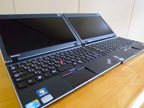 "Thinkpad Edge 11""とX100e"