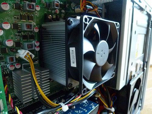 CPUとファン