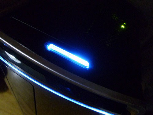 起動時の電源ボタン