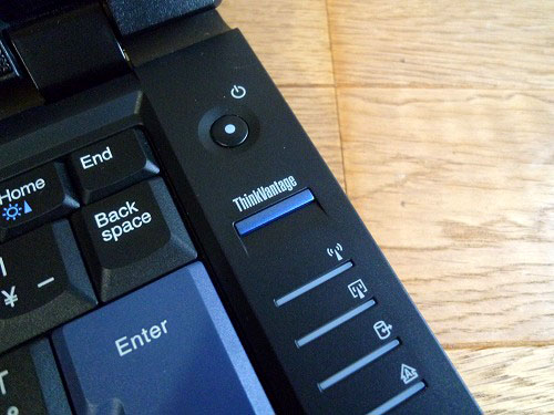 ThinkVantageボタンなど