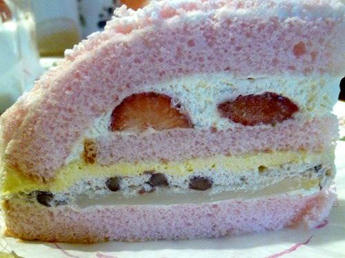 さくらのケーキ側面