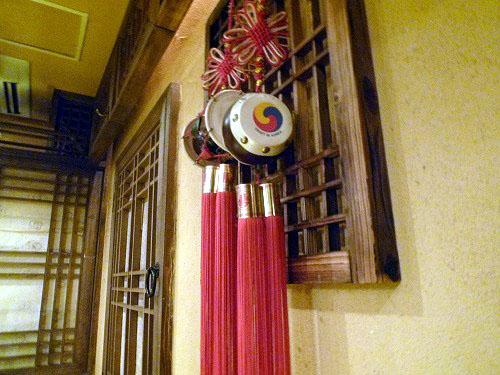 韓国の装飾品