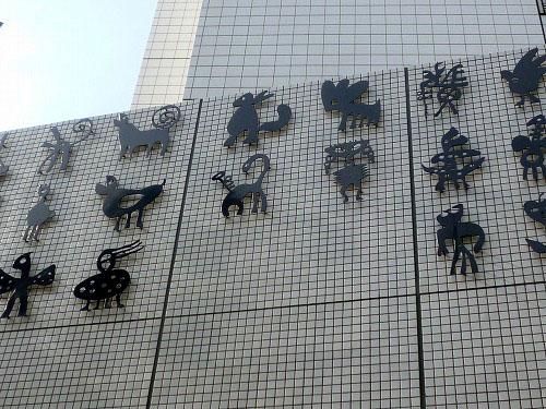 動物の装飾