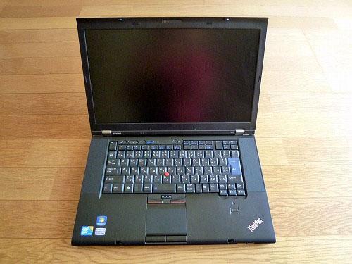 Thinkpad T510正面