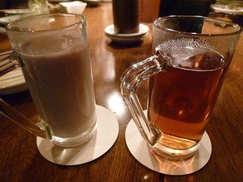 チャイとウーロン茶