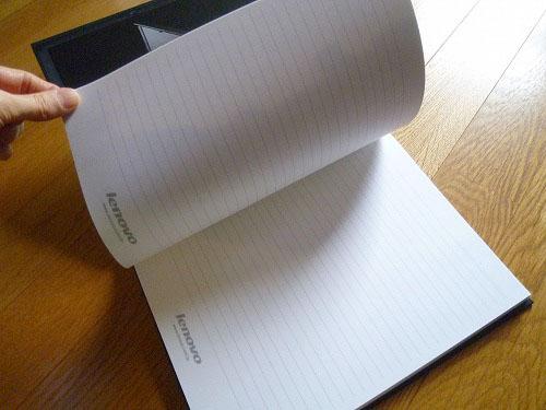 X60のノートでした