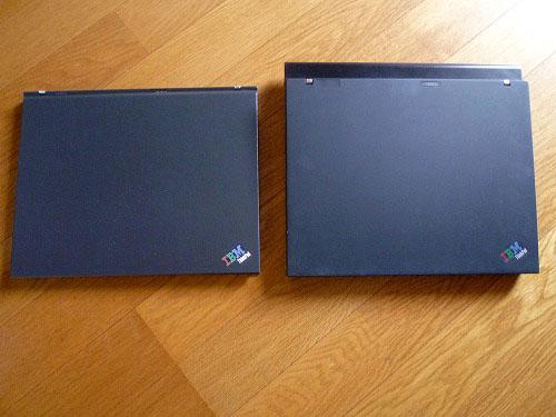 X60とX60の比較