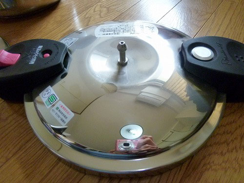 圧力鍋の蓋