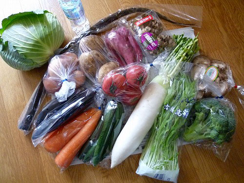 15品野菜セットの内容