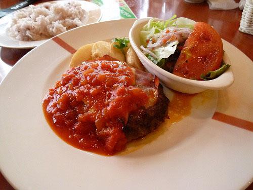イタリアンハンバーグランチ