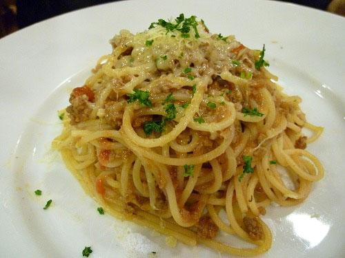 スパゲッティ ボロネーゼ