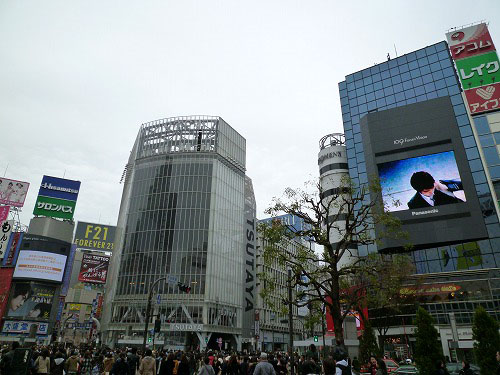 日曜の渋谷