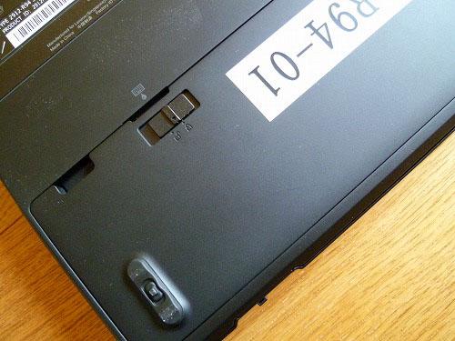 T410sのバッテリー