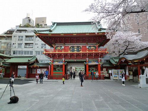 神田神社内