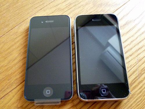 iPhone4とiPhone
