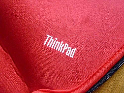 内側のThinkpadロゴ