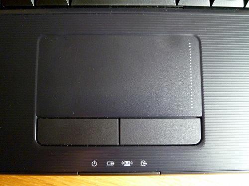 G560eのタッチパッド