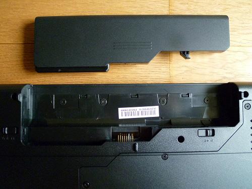 G560eのバッテリー