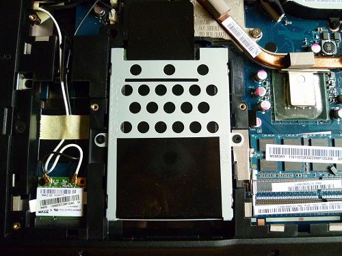 G560e底面内部