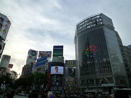 夕方の渋谷