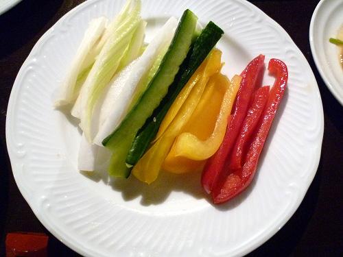 スティック野菜お代わり