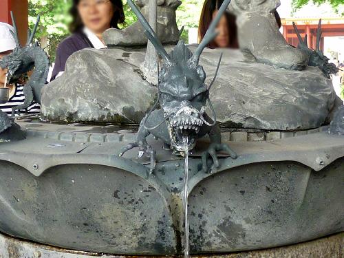 沙竭羅龍王像 付近
