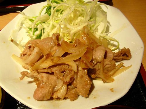 豚生姜焼き