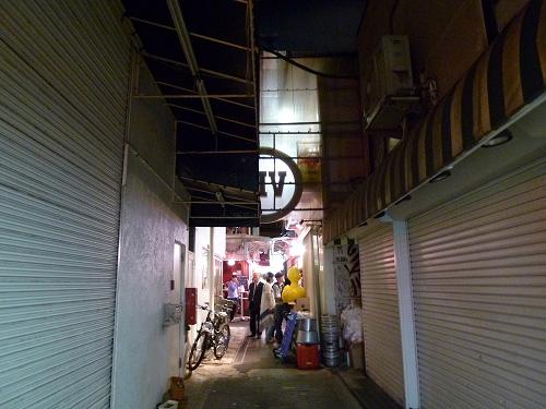 ハーモニカ横丁の通り