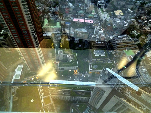 アカデミーヒルズ40階からの風景