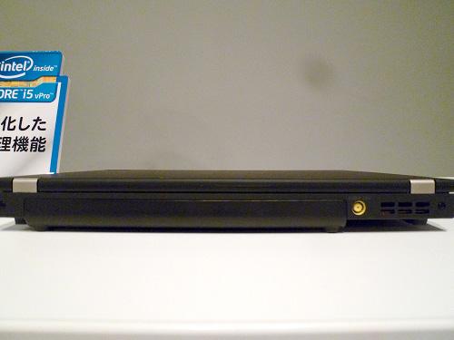 ThinkPad X220の背面