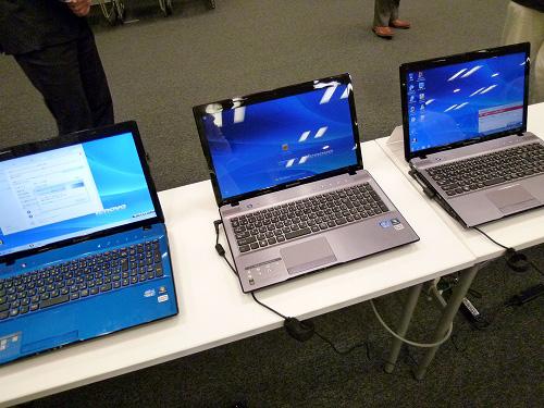 3種のIdeaPad Z570