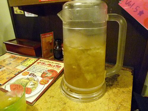 ジャスミン緑茶